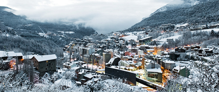 Andorra by night